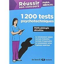 Réussir son concours Paramédical - 1200 tests psychotechniques