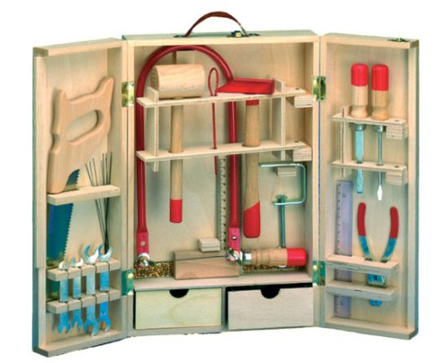 werkzeugkoffer holz preisvergleiche erfahrungsberichte und kauf bei nextag. Black Bedroom Furniture Sets. Home Design Ideas