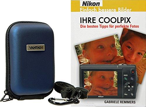 Foto Kamera Tasche EVA mit Fotobuch IHRE COOLPIX Nikon für S7000 S6900 L31 L33 und viele mehr