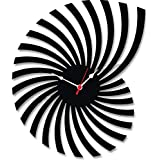 eshopeazy-in Wood Carving MDF Analogue Wall Clock for Home/Wall Clock