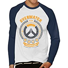 Overwatch Guardian Hero Men's Baseball Long Sleeved T-Shirt