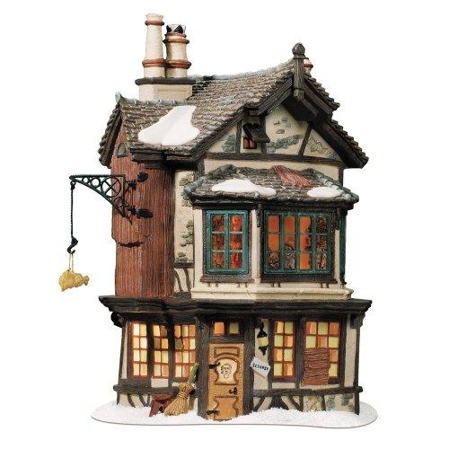 Departement 56 Dickens' Village Ebenezer Scrooge's House Beleuchtetes Haus -