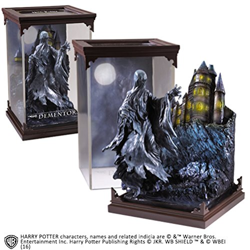 Noble Collection NN7550– Figura deHarry Potter, Criaturas mágicas, Diorama con diseño de Dementor
