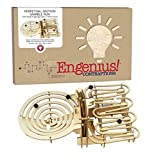 Cheatwell Games 81007 Engenius Contraptions Marble Run, Nylon/A