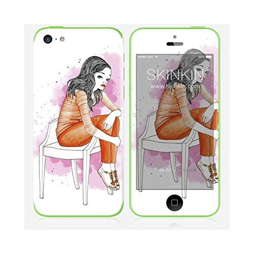 Sticker iPhone 5C de chez Skinkin - Design original : Wish and wear 30 par Manuela De Simone Skin iPhone 5C