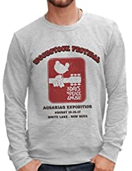 Sweatshirt Woodstock Festival Music - Musik By Mush Dress Your Style