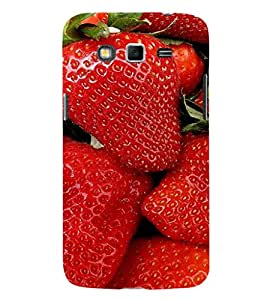 EPICCASE Strawberry love Mobile Back Case Cover For Samsung Galaxy Grand Max & Grand 3 (Designer Case)