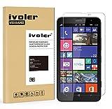 iVoler Pellicola Vetro Temperato Nokia Lumia 1320 [Garanzia a Vita], Pellicola Protettiva, Protezione per Schermo