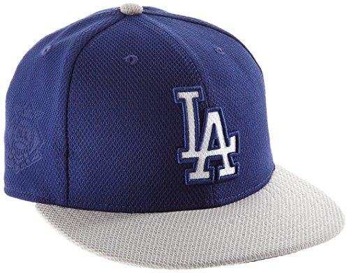 New Era MLB Diamond Era Auth 5950 Los Angeles Dodgers OTC - Casquette pour Homme, Couleur Bleu, Taille 7 0/0