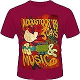 Plastic Head Herren, T-Shirt, Woodstock Swirl Poster
