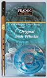 Feadog Brass Irish Penny Whistle triple Pack (Whistle, Book and CD) - Key of D