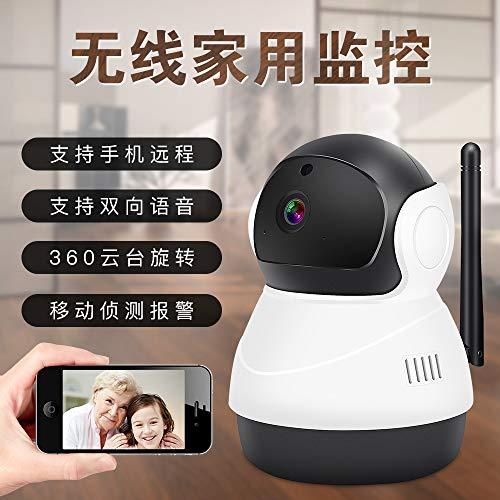Telecamera Wi-Fi Smart Wireless Camera Wifi Telecomando Monitor Mobile Home Rete Hd Sorveglianza Telecamera Bianco E Nero - 2 Megapixel