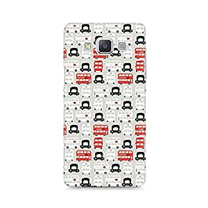 High Quality Printed Cover Case for Samsung A5 Model - London Cab and Bus