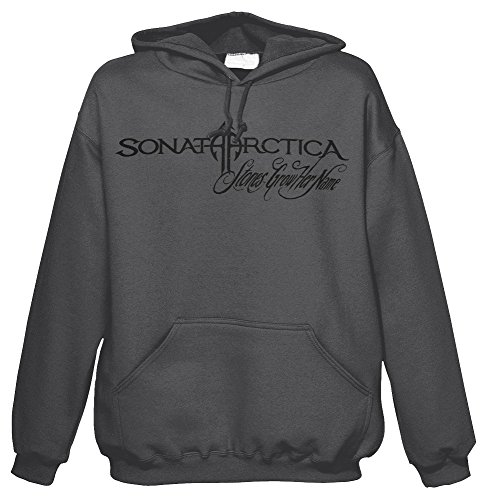 NUCLEAR BLAST Herren Hoodie Sonata Arctica - Stones Grow Her Name - Grey 1 M (Hoodie Arctica Sonata)