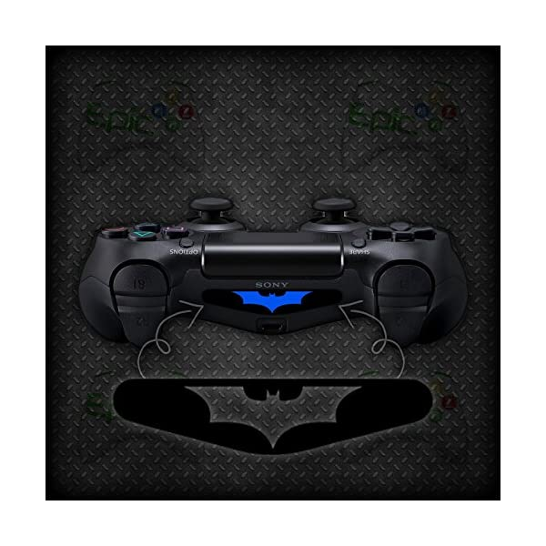 2x Playstation 4 PS4 Controller Light Bar Batman Vinyl Decal Sticker 51pSzERiD L