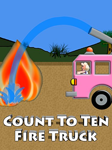 Pink Fire Truck Counting 1-10 For Kids [OV] (Pink Fire Truck)