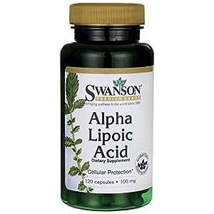 Swanson Alpha Lipoic Acid - 100mg, 120 Capsules