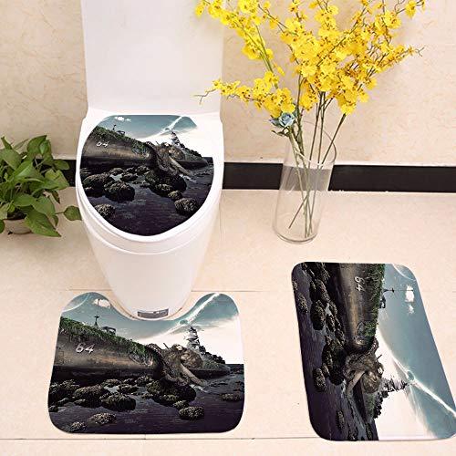 Black Velvet Badewanne WC DREI Stück Kunst drucken Krieg Rutschfeste Matte, dd 1046-3,60 * 50 * 40 18 44 44 * * 35 - 1046 Teppich
