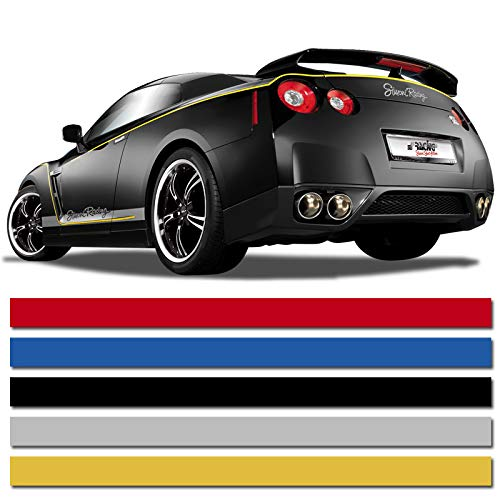 Preisvergleich Produktbild Universelle selbstklebende Pin-Stripe AutoStripe Cool200 - Gold - 3mm x 975cm
