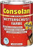 CONSOLAN Wetterschutzfarbe Schiefer 750ml - 5241145