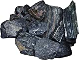 Aldomin Natural Black Tourmaline Raw Hea...