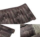 Selbstklebend Vintage Wood Panel Stein Muster Kontakt Papier für Küche Schränke Regale Schublade Wand Kunst und Handwerk Aufkleber 61x 297,2cm