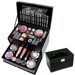 valise maquillage beauty mallette maquillage compl te noire beaut et parfum. Black Bedroom Furniture Sets. Home Design Ideas