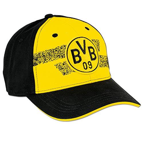 BVB Kappe Borussia Dortmund, Schwarz/Gelb, One Size, 2466313