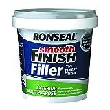 Ronseal ERMF - Vaschetta di stucco riempitivo multiuso per esterno, già pronto, mescolato, 12 kg 1,2 kg