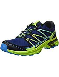 Salomon Wings Flyte 2, Zapatillas de Trail Running Hombre, Azul (Blue Depths/Lime Green/Hawaiian Sur), 43 1/3 EU