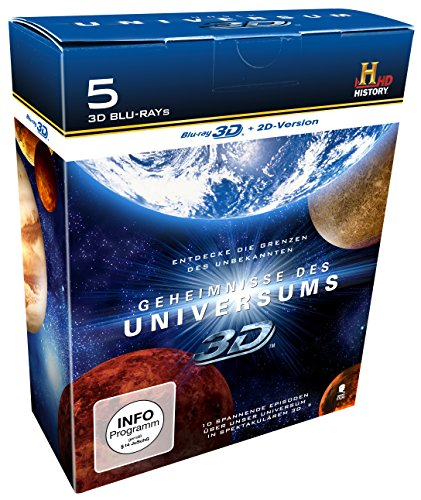 Die große History 3D-Box (Limited Edition, exklusiv bei Amazon.de) [3D+2D-Blu-ray]