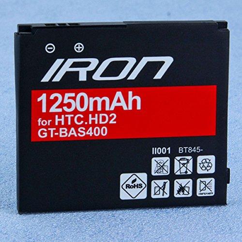 Batterie GT IRON für SAMSUNG i8520 GALAXY Beam (1600mAh), Handy Akku, starke Leistung, Lithium-lonen, Zubehör Ersatzteil