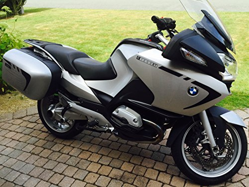 BLACK REFLECTIVE BMW R1200RT FAIRING AND PANNIER STRIPE for sale  Delivered anywhere in UK