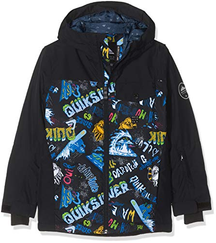 Quiksilver Jungen Jacke Eqbtj03080 L Black_A Night at The Mountain