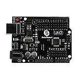 SainSmart 20-011-937 UNO R3 Board schwarz für Arduino, Duemilanove Nano Robot 2013 Version