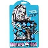 Monster High - MO130038SEFR - bicicletas y vehículos de juguete - Todos los balones + Ruedas de acero - Blanco - 16 pulgadas