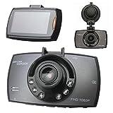 2.7inch LCD 1080P Mini Auto Camera Car Camera Dashcam 140° grandangolare auto DVR Dash Cam cruscotto Camcorder Black Box con G SENSORE DI VISIONE NOTTURNA