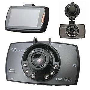 mini camaras espias precios: 2.7inch LCD 1080P Mini Cámara Auto Car Camera dashcam Gran Angular de 140° Coc...