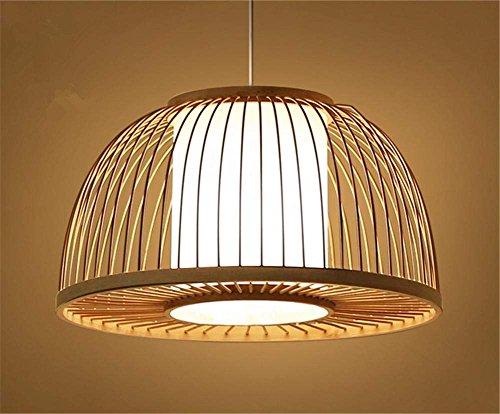 PLLP Innenbeleuchtung Kronleuchter Leuchten Woven Holz Pendelleuchte Schlafzimmer Wohnzimmer Esszimmer Licht