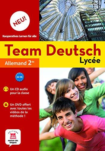 Team Deutsch Neu lycée 2nde (1DVD + 1 CD audio)