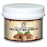 Manteca de Karite Pura 450g - Refinada - African - Ghana - Manteca Karité 100% Natural Mejor para el Pelo - Piel - Manos - Labio - Cara - Cuidado del Cuerpo - Shea Butter