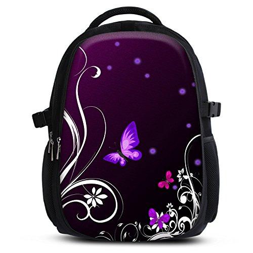 Rucksack für Jungen Mädchen Damen Herren Kinder - Schulrucksack Schulranzen, Ranzen für die Schule - Backpack für die Stadt / zum Sport für Kinder & Jugendliche - Cooles Design / aus Canvas Stoff