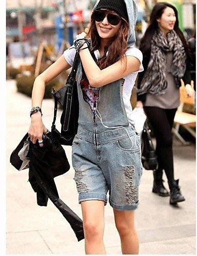GSP-Pantalon Aux femmes Décontracté / Mignon Toile de jean blue-m