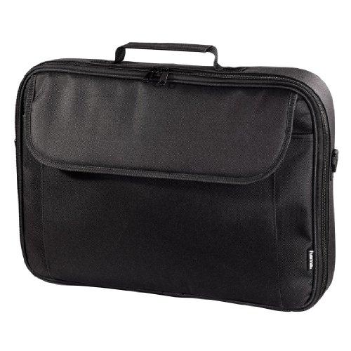 Hama Notebook-Tasche Sportsline Montego (Tasche für Laptop / Notebook, Notebooktasche geeignet für Computer bis 17,3 Zoll / 44 cm Bildschirmdiagonale, Laptoptasche) schwarz
