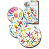 INTEX LIVELY PRINT BEACH BALL - 24""