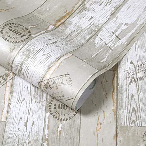 Wasserdichte Pvc Holz-druck Aufkleber Nachahmung Holz-gedruckt Aus Klebrigen Tapete Schrank Schrank Tisch Alte Tür Möbel Renovierung Tapete 5m X 60cm Besuchen Sie die alte Planke