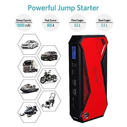 51pT8Fw M0L. SS416  - Batería de emergencia DBPOWER DJS50