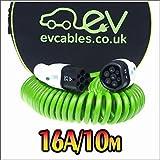 EV Cables CHC001-S(10M) Spiral Schnell Ladekabel