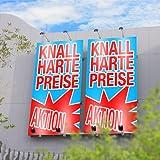 PVC Banner / Werbebanner von Ihrer Datei 1 x 1 Meter inklusive Druck und Ösen