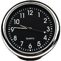 Reloj de cuarzo de alta precisión, pequeño y redondo, decoración perfecta para el coche, de Txian